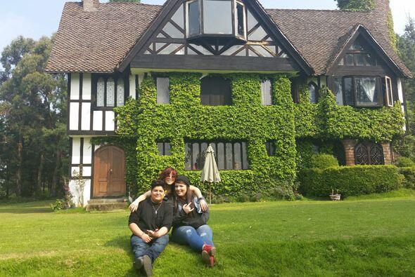 Terminamos esta aventura visitando una casa que parece más de sueños que...