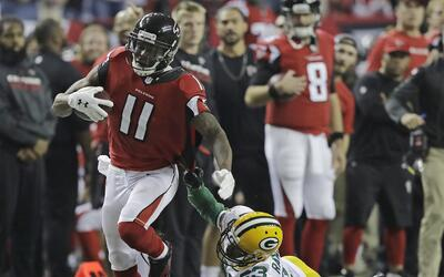 Julio Jones humilló a Green Bay con un impresionante touchdown de 73 yardas