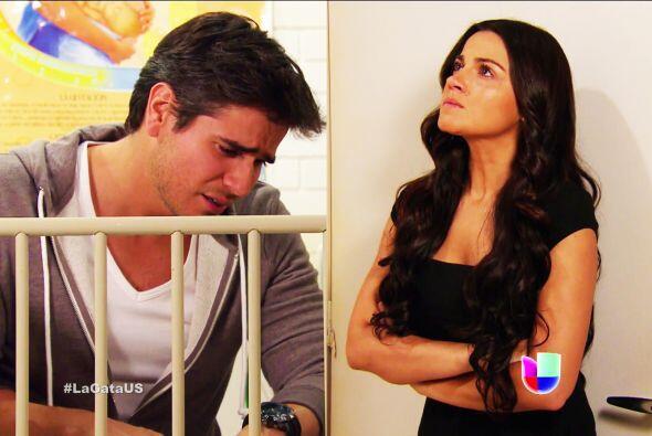 Muy bien Esmeralda, Pablo merece ver a su hija. Pero no le guardes renco...
