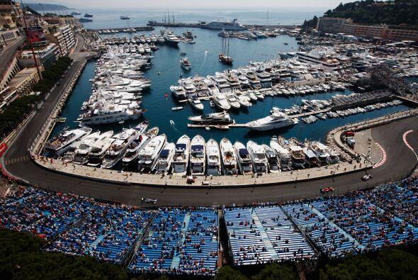 El puerto de Montecarlo es el escenario más elegante del calendario de F...