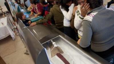 En el 70 por ciento de los casos, las funerarias velan muertos que provi...