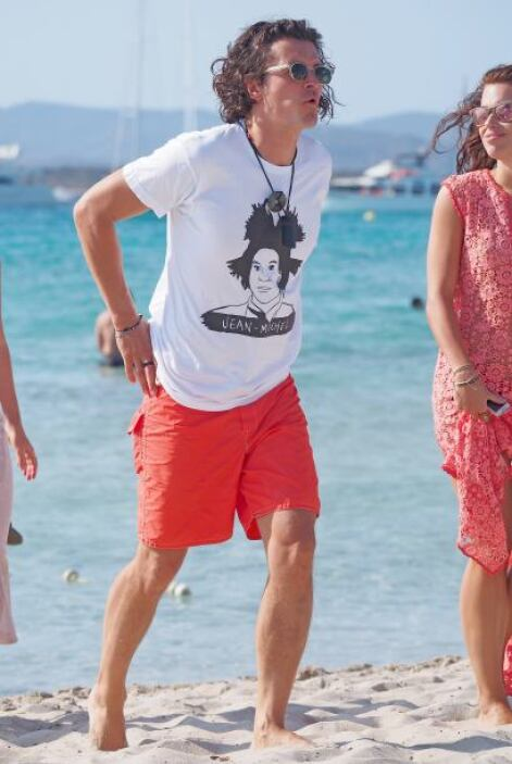 Orlando Bloom también ha pasado el verano en Ibiza y con una guapa acomp...