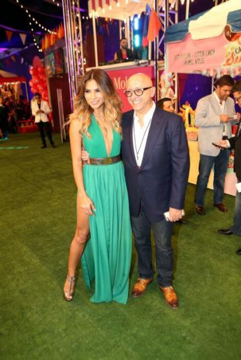 Alejandra Espinoza y Alberto Ciurana