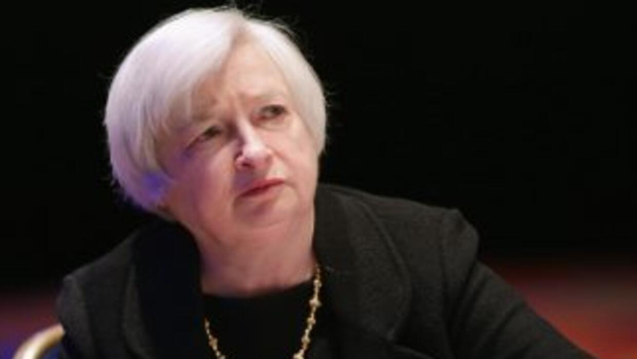 Janet Yellen, presidenta del banco central estadounidense.