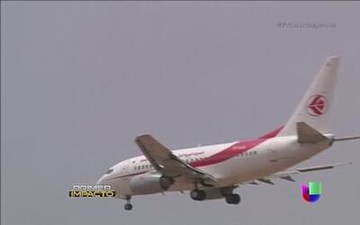 Otro accidente aéreo, ahora en África