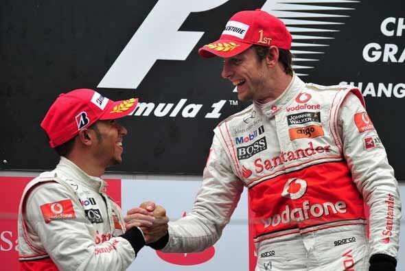Hamilton y Button esperan dominar también cuando la temporada de...