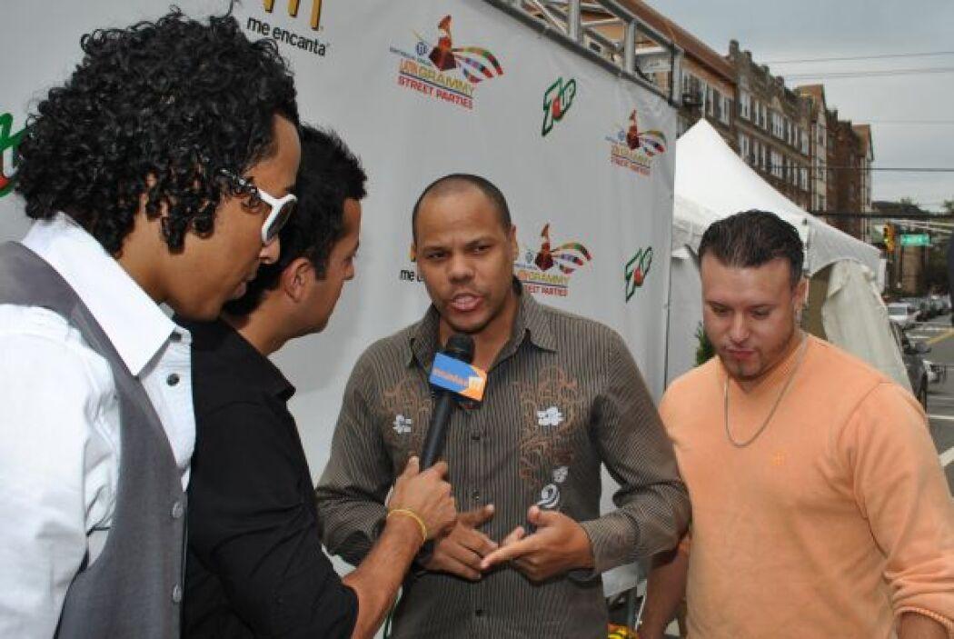 Raúl Acosta fue entrevistado por las Ángel Villagomez, reportero de Escá...