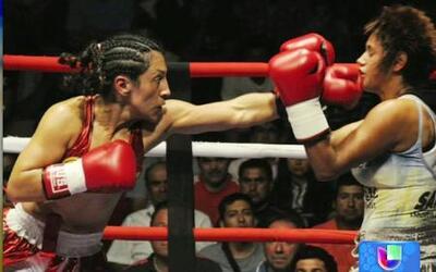 La chilena 'Crespita' es una de las mejores boxeadoras del planeta