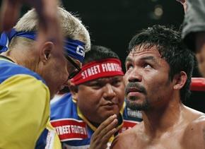 Pacquiao diría adiós al boxeo.