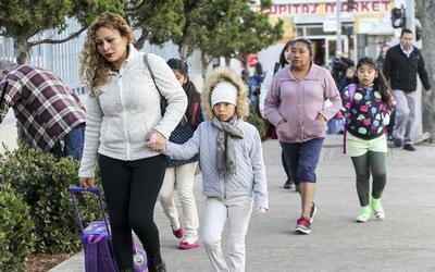 Los niños de las minorías conforman el 53% de los no asegurados del país...