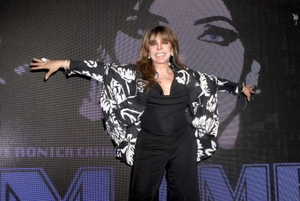 Durante la presentación de la puesta en escena, la actriz no pudo evitar...