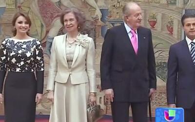 Los Reyes de España cenaron con el Presidente de México y esposa