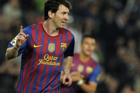 Messi no falló y así suma un nuevo gol para su carrera.