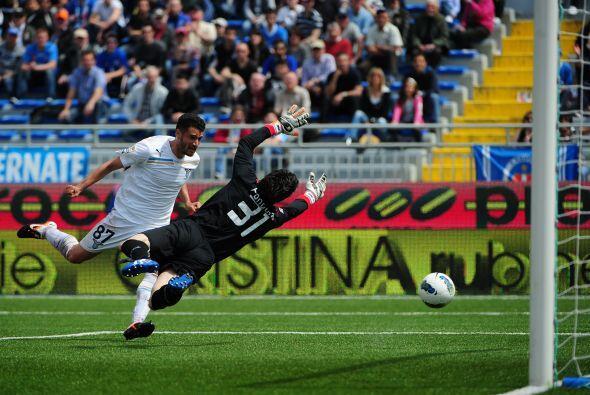 Un autogol puso en ventaja al Novara, pero Antonio Candreva logró...