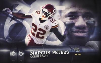 Top 100 Jugadores del 2016: (Lugar 65) CB Marcus Peters