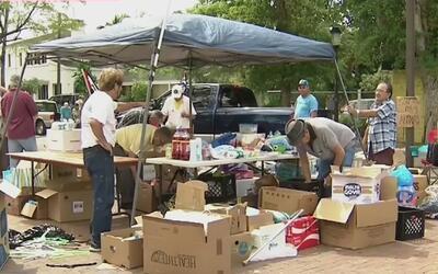 Organizaciones de exiliados cubanos en Miami recolectaron 30,000 libras...