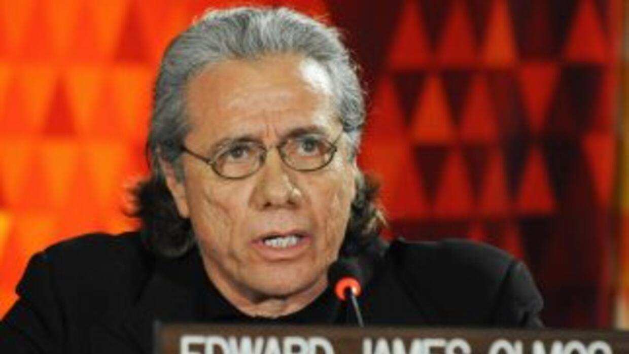 El actor Edward James Olmos.