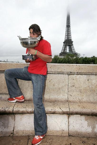 Nadal debutó en Roland Garros con 18 años, mucha ilusión y con poco curr...