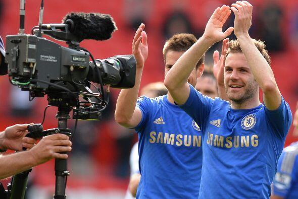Acabó el partido y los 'Blues' sacaron tres puntos que les permit...