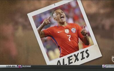 Postales de la Copa América Centenario: Alexis Sánchez