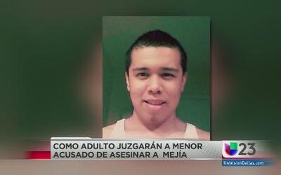 Menor será juzgado como adulto por el asesinato de Iván Mejía