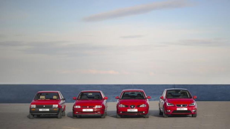 El Ibiza ha tenido 4 generaciones a lo largo de sus 30 años de vida.