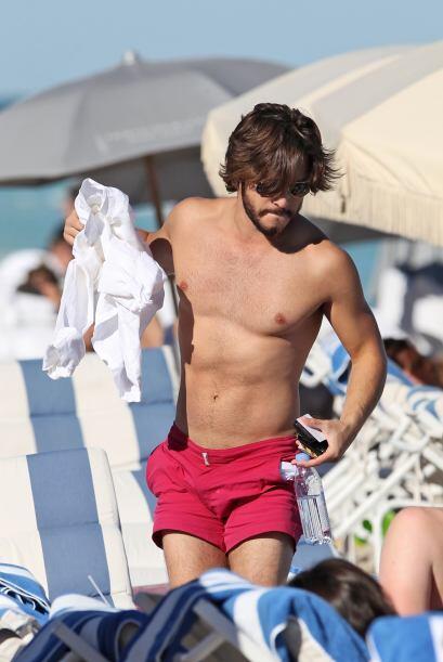 Pero Diego quiere verse aún más musculoso.