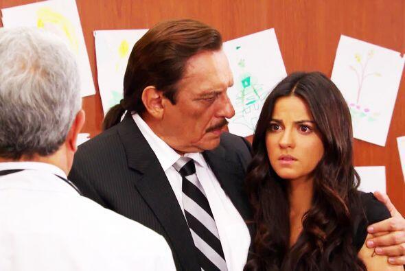 Escucha bien Esmeralda y toma con calma lo que te dirá el doctor....