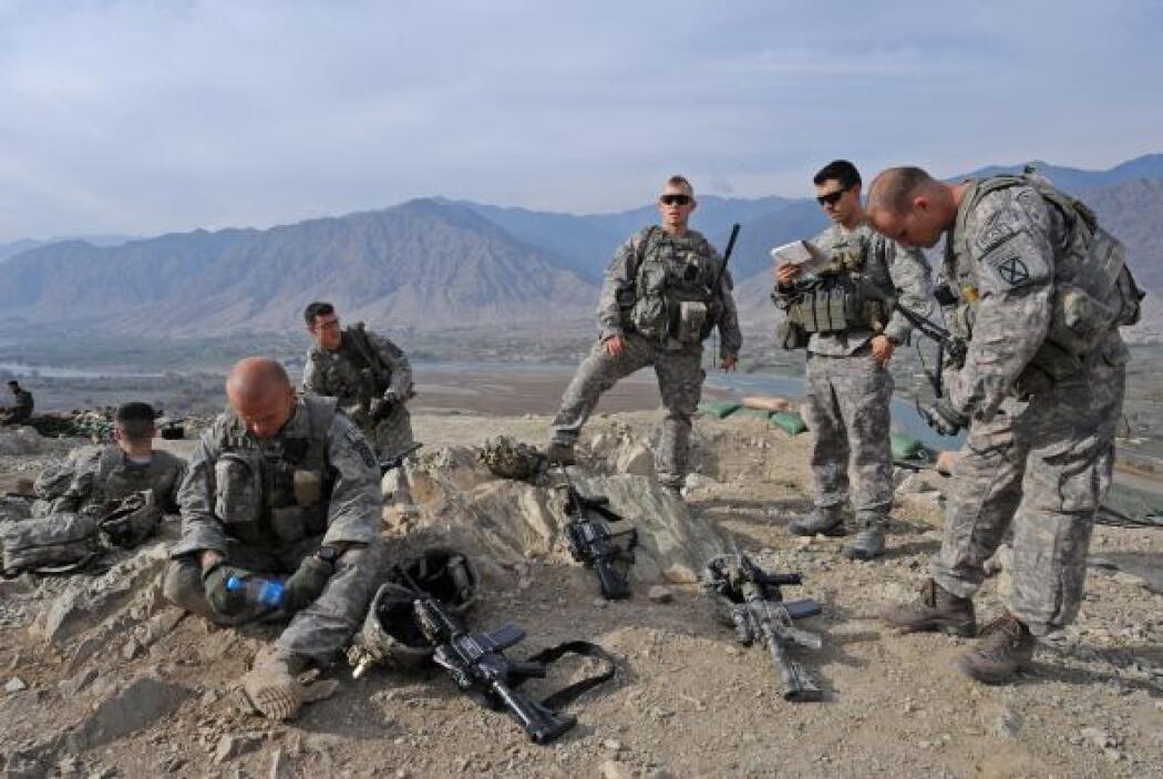 Para estas tropas de la Cuarta Brigada Stryker de la Segunda División de...