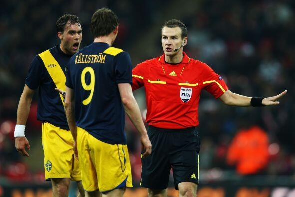 Por supuesto, no faltaron los airados reclamos sobre el árbitro.