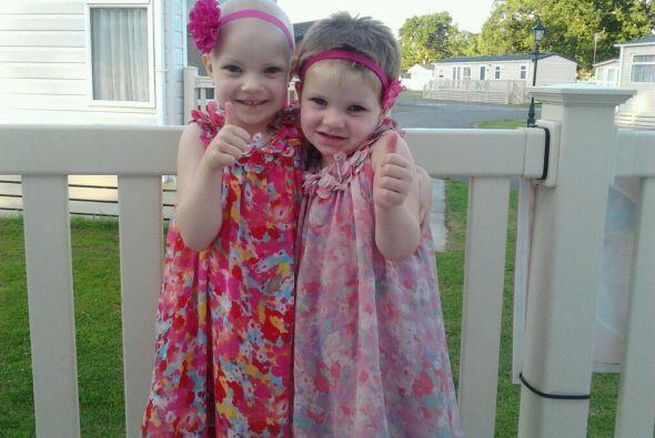 Demostraron su amor y apoyo a su pequeña hermana.
