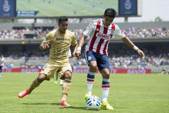 Ismael Sosa fue uno de los jugadores de Chivas que no brillaron en la ca...