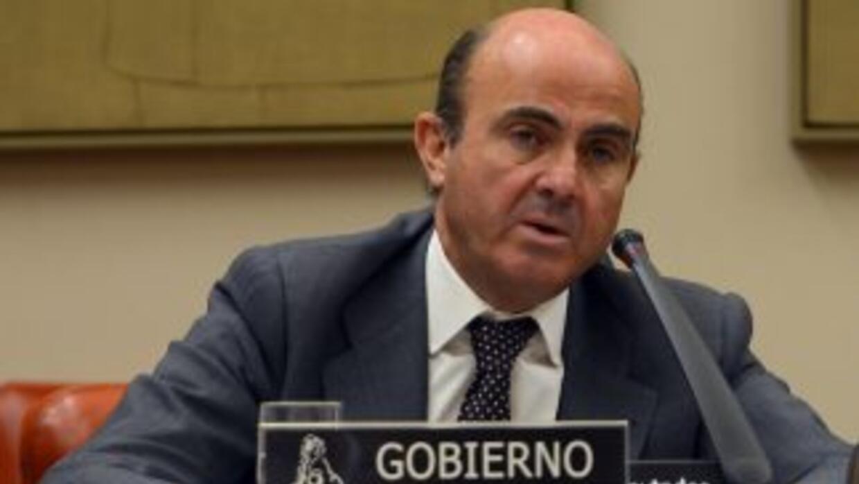 De Guindos dejó en claro que se busca que el BCE compre deuda pública es...