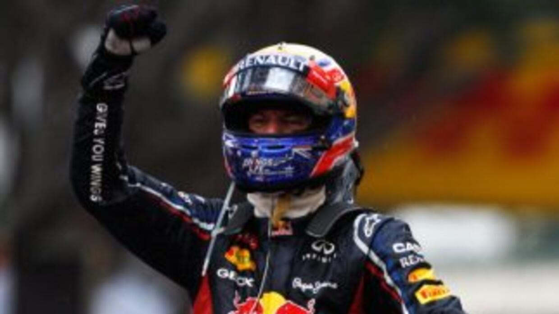 Webber ganó en Mónaco saliendo desde la pole.