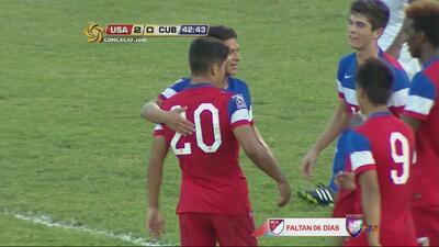 Estados Unidos goleó a Cuba en el comienzo del Sub-17 de CONCACAF