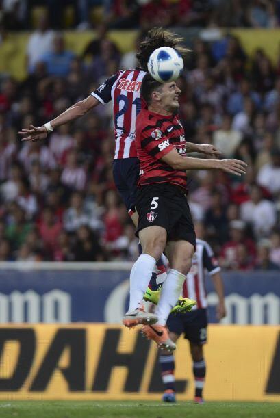 En el certamen regular, Chivas terminó en el lugar quinto con 26 puntos,...