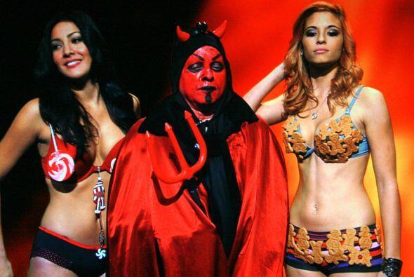 Hasta Lucifer apareció en Noche de Perros.