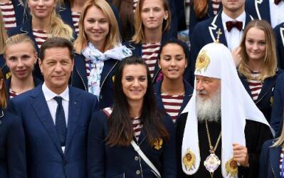 Atletas rusos celebran su propio campeonato