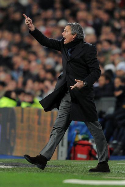 José Mourinho no entendía cómo era que sus dirigido...