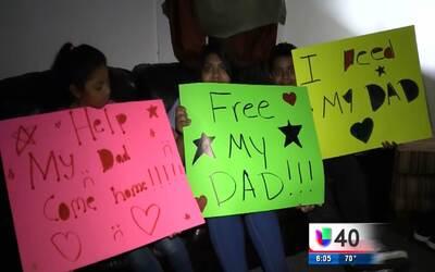 Realizan vigilia por un padre de familia encerrado en el centro de deten...