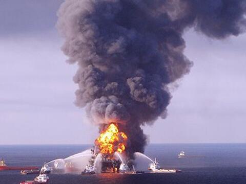 Día maldito. El 20 de abril de 2010 se produjo una explosi&oacute...