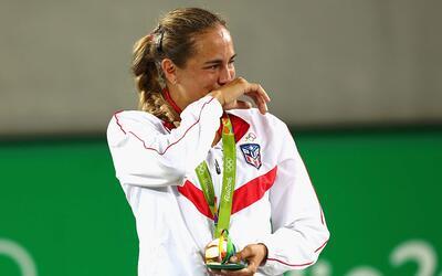 Mónica Puig le da la primera medalla de oro a Puerto Rico