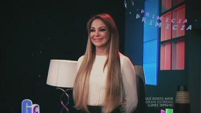 La locutora Eli Castro negó que tenga una relación con Esteban Loaiza, e...