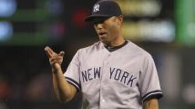 Mariano Rivera se convirtió en apenas el segundo lanzador en llegar a 60...
