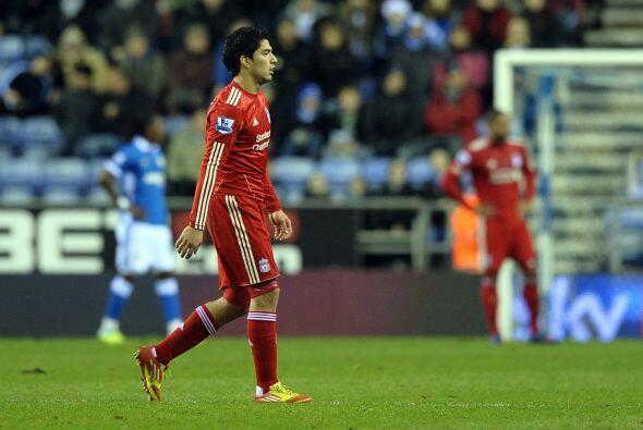 Al final, Liverpool y Wigan igualaron sin goles.