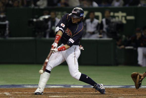 Yoshio Itoi puso la ventaja en 10x0 en la cuarta entrada.
