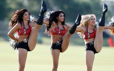 Las chicas también se preparan para dar lo mejor de ellas en temp...