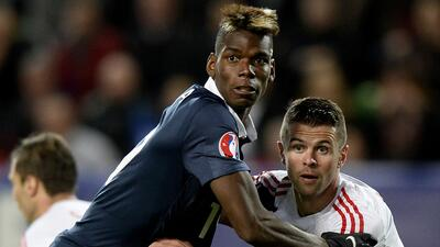 El crack de la Juventus no pudo evitar la derrota de los galos ante Albania
