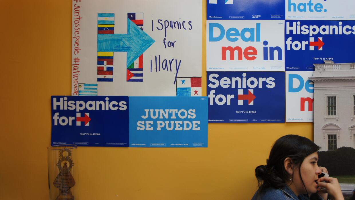 hispanics for hillary clinton