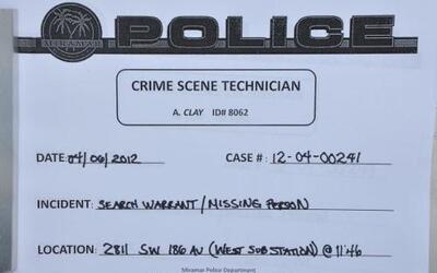 Cientos de páginas de testimonios, grabaciones telefónicas y fotografías...